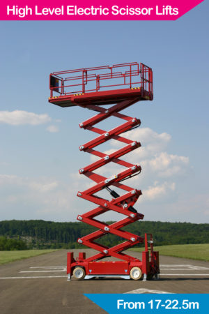 High Level Electric Scissor Lifts
